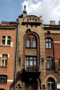 """Dom """"Pod Sową"""" (1907), przy Alei Krasińskiego 21, arch. Roman Bandurski; zdj. Katarzyna Starzyńska"""