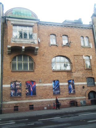 Zakład Witraży S.G.Żeleńskiego (1906-1907), przy Alei Krasińskiego 23, arch. Ludwik Wojtyczka; zdj. Katarzyna Starzyńska