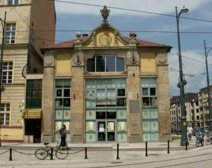Pawilon przy Pl. Teatralnym, Wrocław www.muzeumsecesji.pl