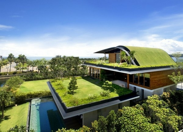 The Meera House, Sentosa Island, Singapore, Guz Architects; Fot. Patrick Bingham Hall