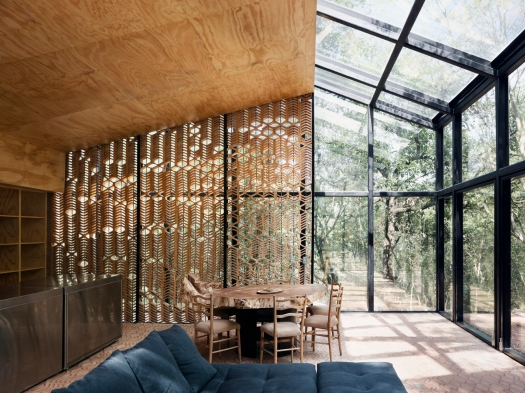 wnętrze dom weekendowy