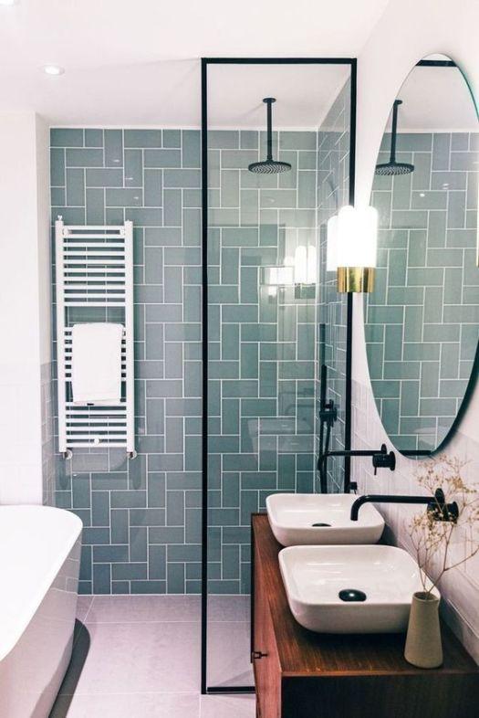 modne płytki w łazience