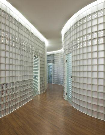 szklany korytarz